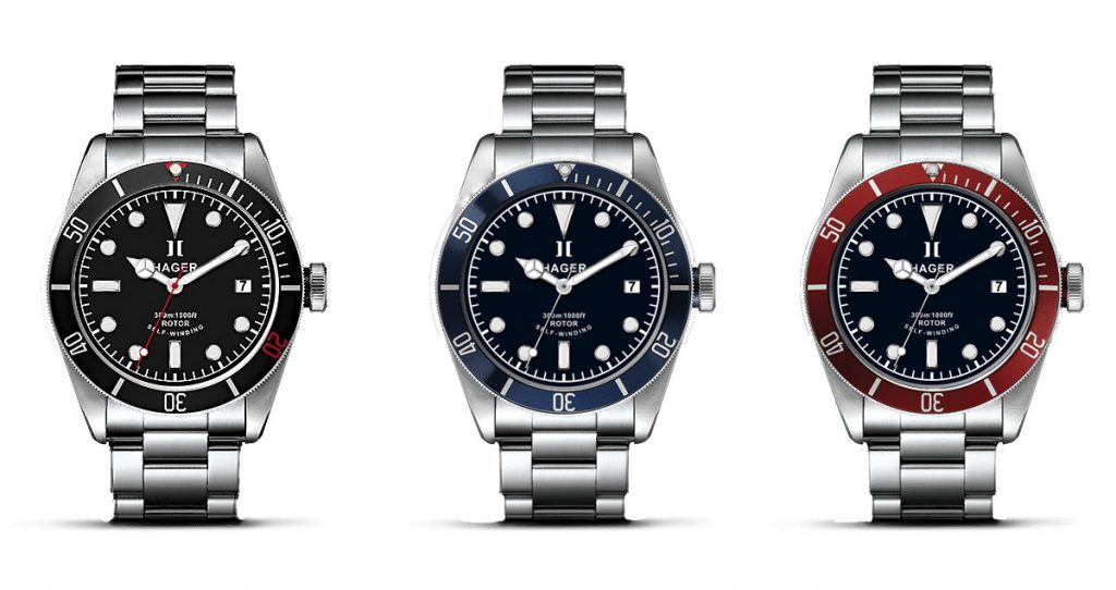 Hager Aquamariner watch