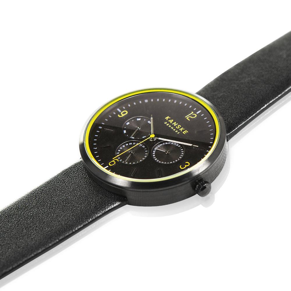 Kanske Black Supreme watch