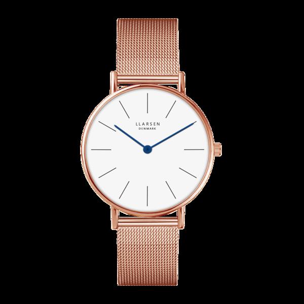 LLarsen Luka Rose Gold unisex watch