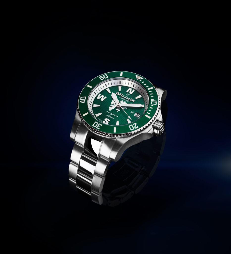 Bruvik Svalbard Green watch