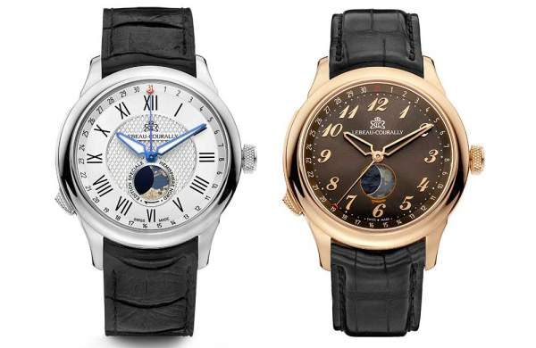 Lebeau-Courally timepieces